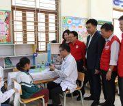 Nâng cao các hoạt động chăm sóc sức khỏe cho học sinh tại Trường Tiểu học Nguyễn Trãi