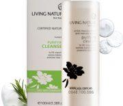 Bạn có biết về Sữa rửa mặt thanh lọc Living Nature Purifying Cleanser chưa?