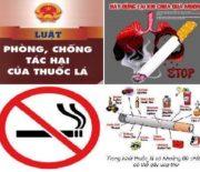 Sử dụng thuốc lá là nguyên nhân của bệnh tật và đói nghèo