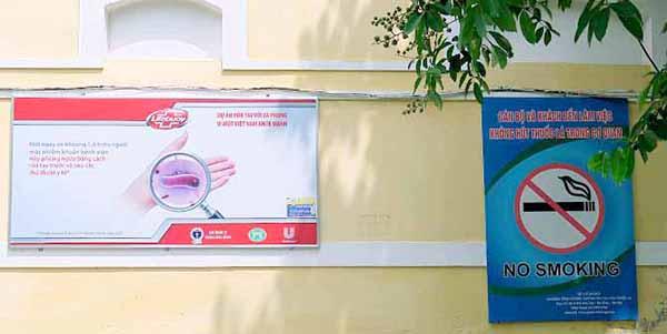 """Hà Nội: Nhiều bệnh viện """"nói không với thuốc lá"""""""