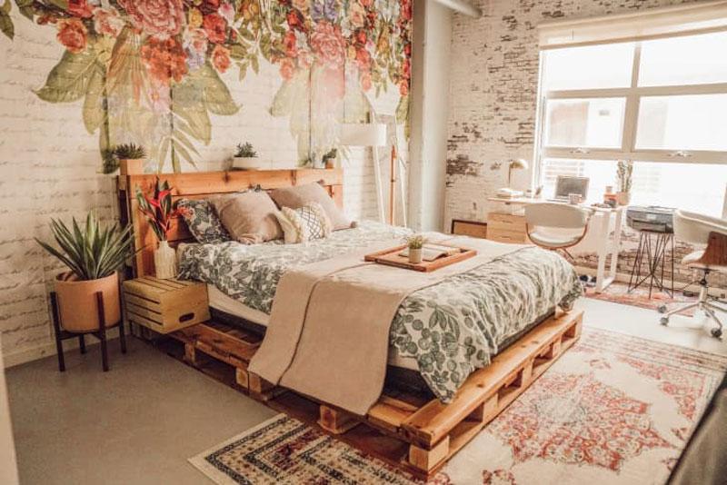 kiểu giường pallet
