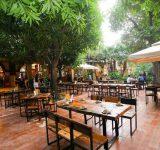 Kinh nghiệm thiết kế quán ăn sân vườn đẹp và thu hút khách hàng