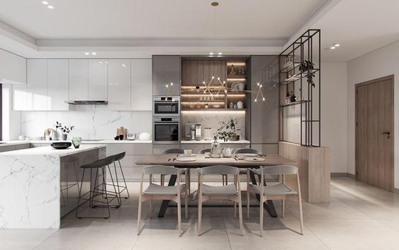 phòng bếp duplex
