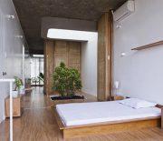 Gỗ là vật liệu tự nhiên phổ biến thường được nhiều người ưa chuộng và sử dụng trong thiết kế nhà ở.