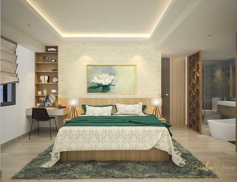thiết kế phòng ngủ chung cư master