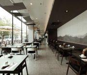 Thiết kế nội thất nhà hàng phong cách Hàn Quốc tạo nên không gian ẩm thực bắt mắt, tinh tế.