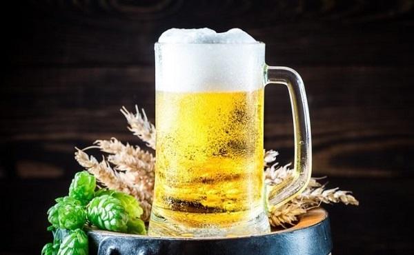chăm sóc da bằng bia